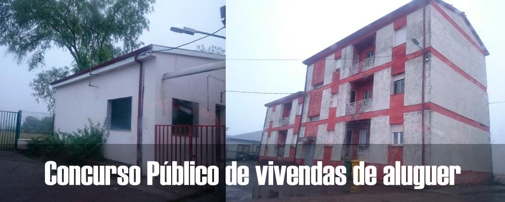 Concurso Público de vivendas de aluguer