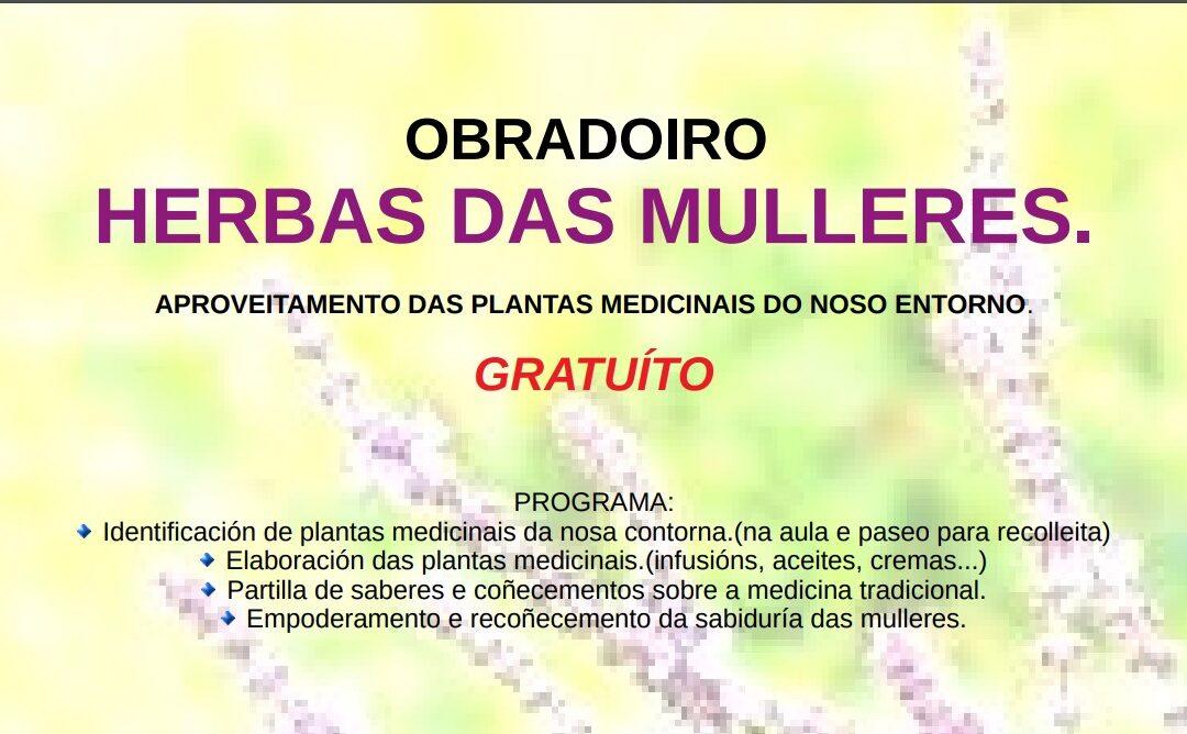 OBRADOIRO GRATUÍTO «HERBAS DAS MULLERES»